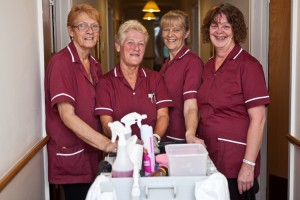 Management and Staff - exceptional hygiene